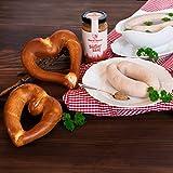 WURSTBARON® Weißwurst Set bestehend aus Breze, Weißwurst...